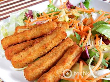 Крабовые палочки в панировке: рецепт изысканного блюда