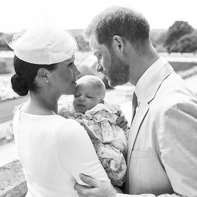 Меган Маркл, принц Гаррі та їх син Арчі