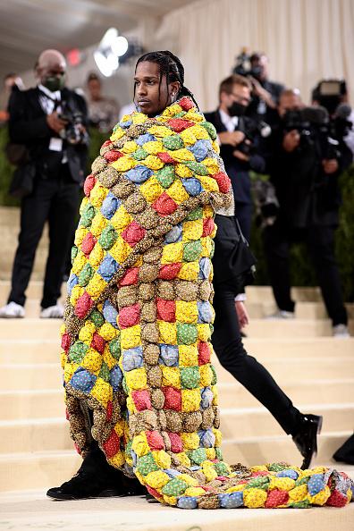 A$AP Rocky на Met Gala 2021