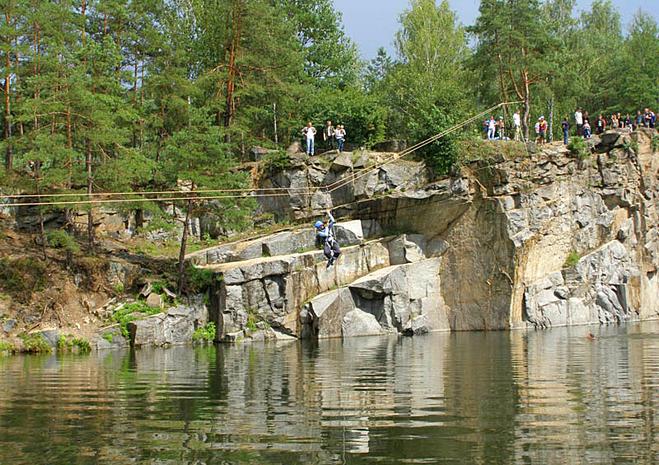 Скелелазіння в Україні: Покинутий гранітний кар'єр в Коростишеві