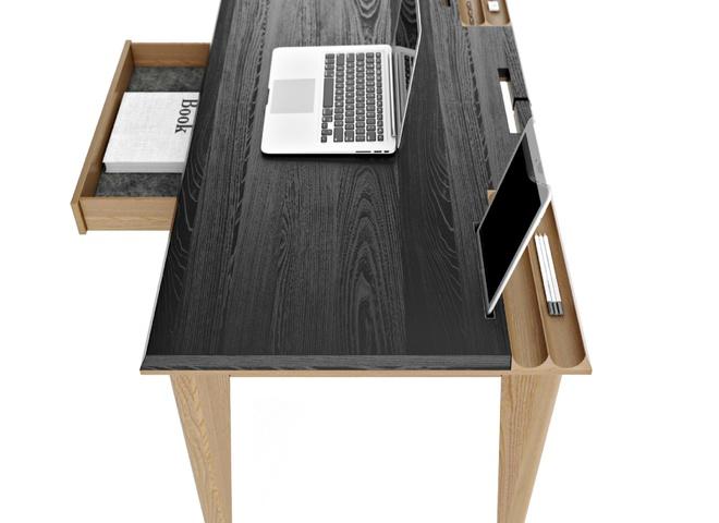 Рабочий стол с прорезями
