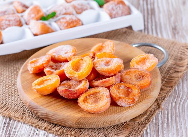 Как заморозить абрикосы
