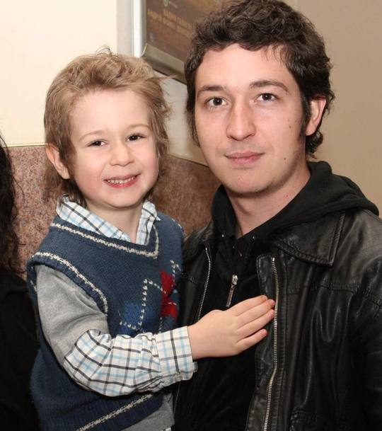 Дмитрий Шуров с сыном
