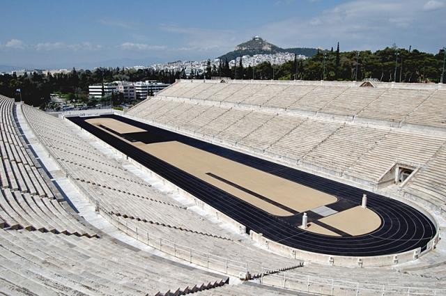 Достопримечательности Афин: Панафинейский стадион