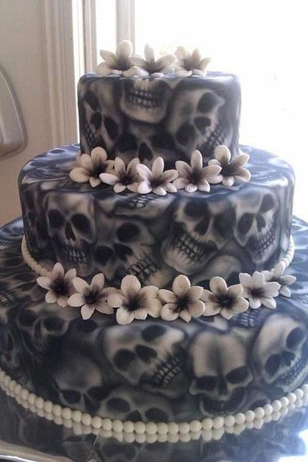 Мега креативные тортики на Хэллоуин