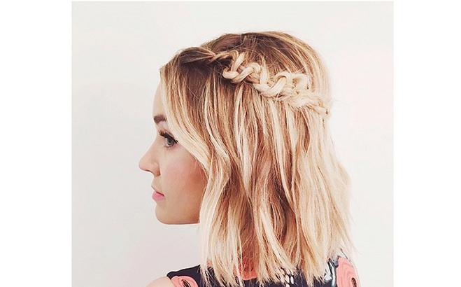 Тенденції 2016: зачіски на випускний на коротке волосся