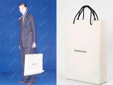 """Balenciaga выпустили """"картонную"""" сумку"""