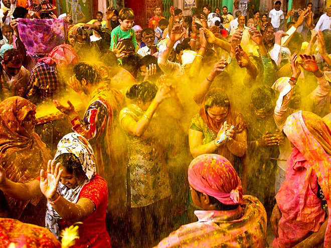 hindu festivals The holi festival commemorates the victory of good over evil, brought about by the burning and destruction of the demoness named holika this was enabled through unwavering devotion to the hindu god of preservation, lord vishnu holi got its name as the festival of colors from lord krishna, a.