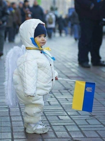 Маленьке янголятко України
