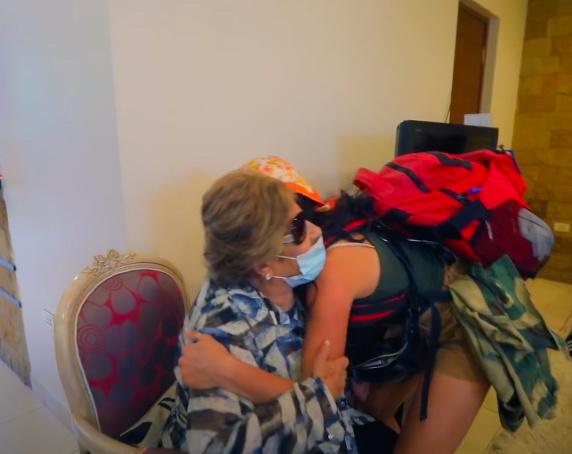 Michelle Andrade с бабушкой Глорией