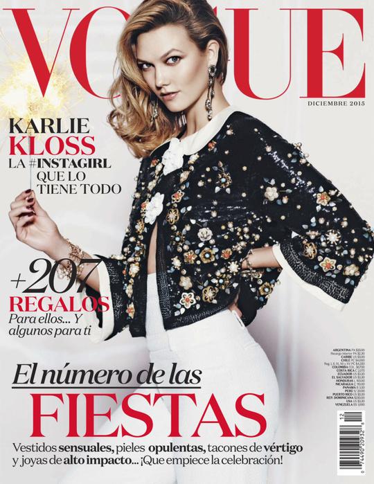 Карли Клосс для Vogue Mexico