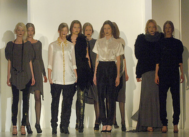 Показ коллекции одежды от Артема Климчука