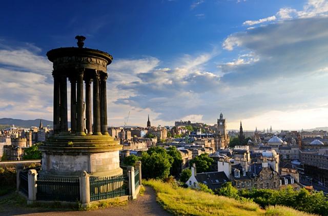 Впечатляющие фото городов Туманного Альбиона: Эдинбург