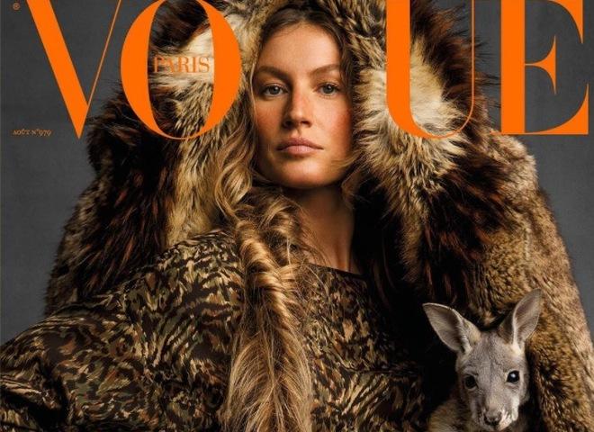 Жизель Бундхен для французского Vogue