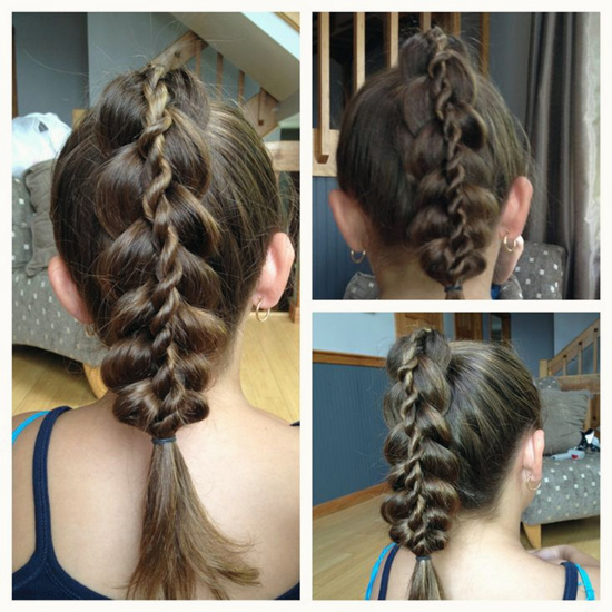 Прически на средней длины волосы на 1 сентября