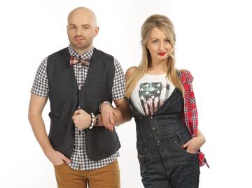 Слава Дёмин и Таня Татарченко
