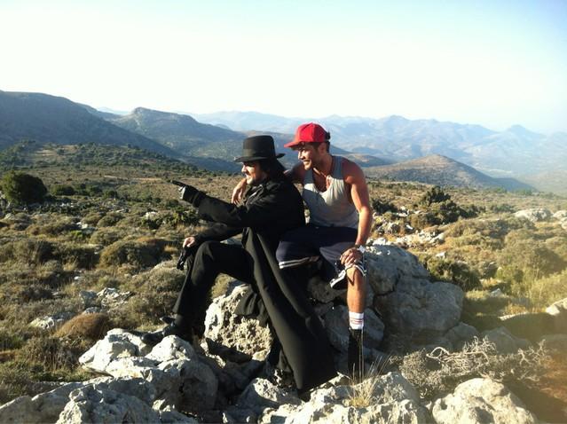Кіркоров на Криті