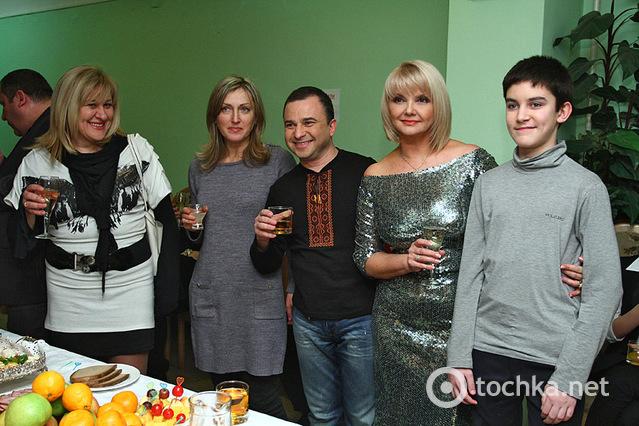 Новорічний концерт, палац Україна, закулісся
