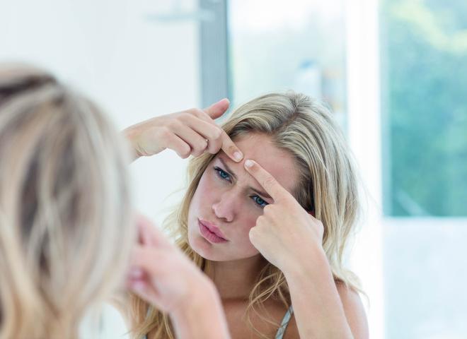 Шрами після акне на обличчі