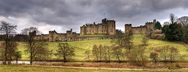 Замки Великобритании: замок Аник