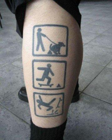 Татуировки приколистов