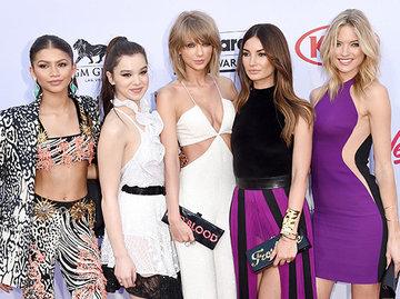 Бьюти-образы красной ковровой дорожки Billboard Awards 2015
