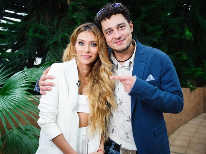 Регина Тодоренко и Евгений Синельников