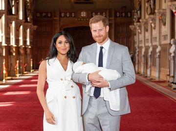 Сын Меган Маркл и принца Гарри