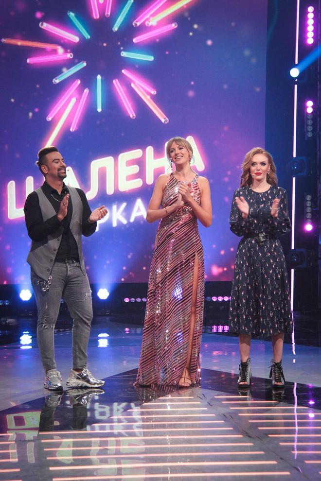 """Слава Каминская в шоу """"Шалена зірка"""""""