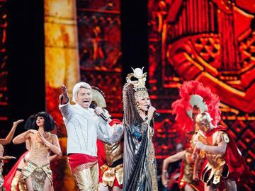 Таїсія Повалій виступила в епатажному образі на сцені Кремля