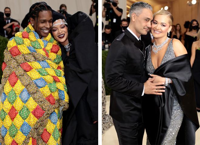 Наймодніші зіркові пари на Met Gala 2021