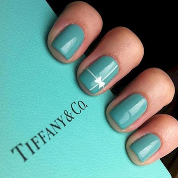 """Потрясающий маникюр """"Tiffany"""""""