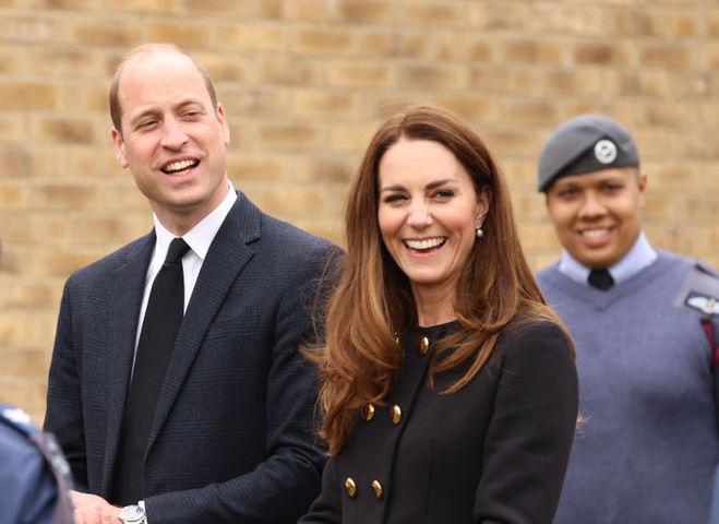 Первый выход Кейт Миддлтон и принца Уильяма после похорон принца Филиппа