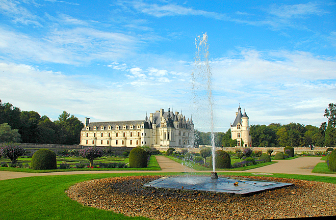 Замки на воді: Замок Шенонсо, Франція