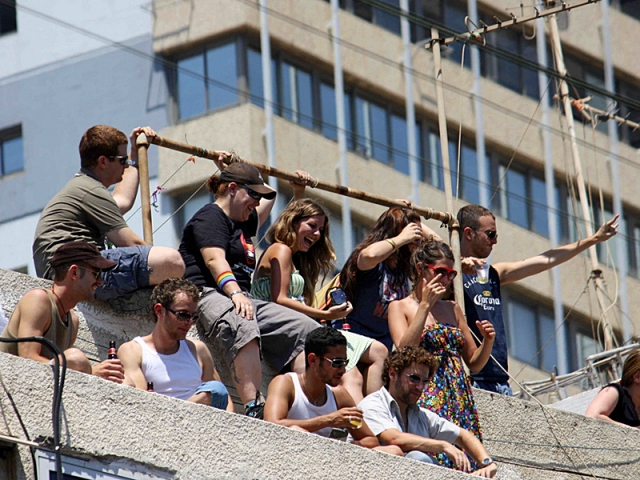 Ночные клубы Тель-Авива: roof parties