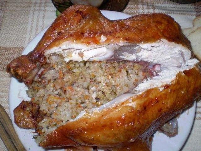 Курица в духовке рецепты целиком пошаговый рецепт
