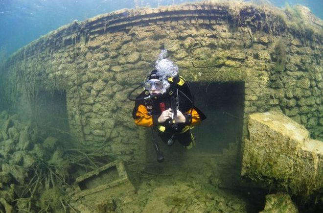 Підводна в'язниця в Естонії