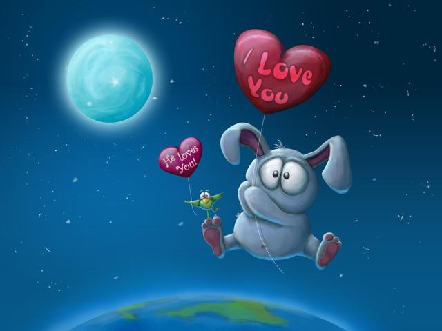 Улетные открытки с днем Святого Валентина