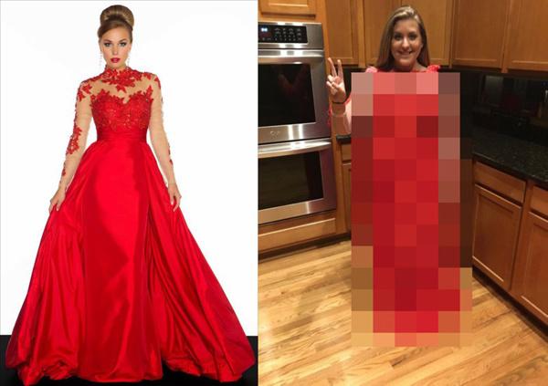 Красное платье на выпускной. Ожидание и реальность