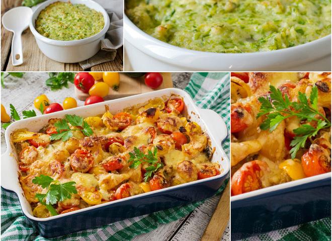 Постные блюда: рецепты запеканок с картофелем и грибами