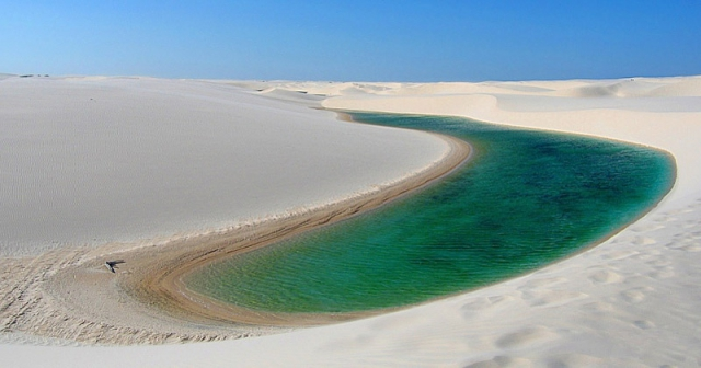 Самі незвичайні пустелі: пустеля Ленсойс-Мараньенсес, Бразилія