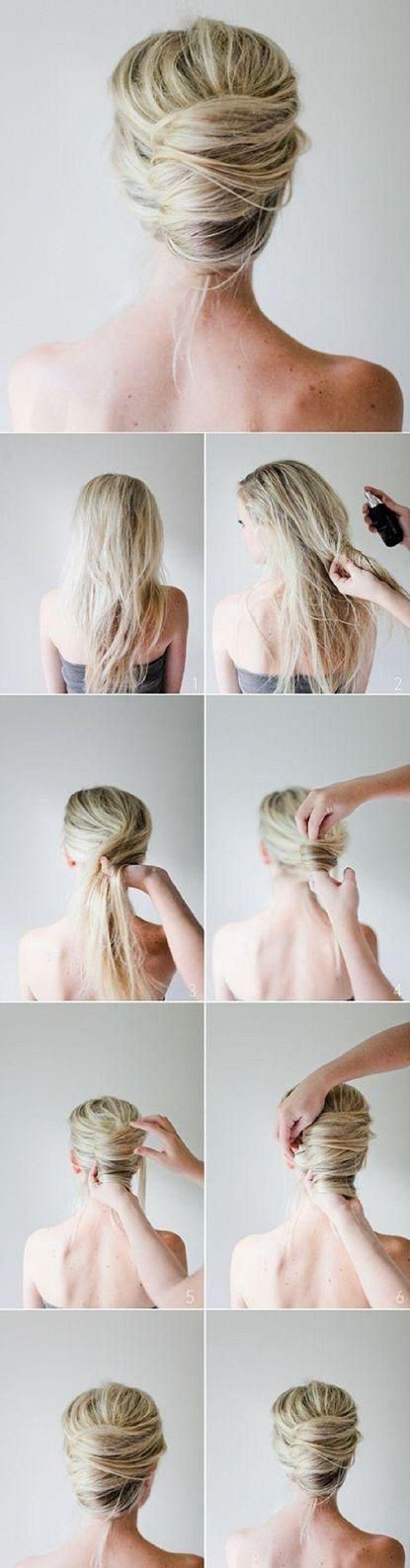 Швидкі зачіски покроково