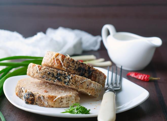 Фаршированная щука: рецепт с грибами