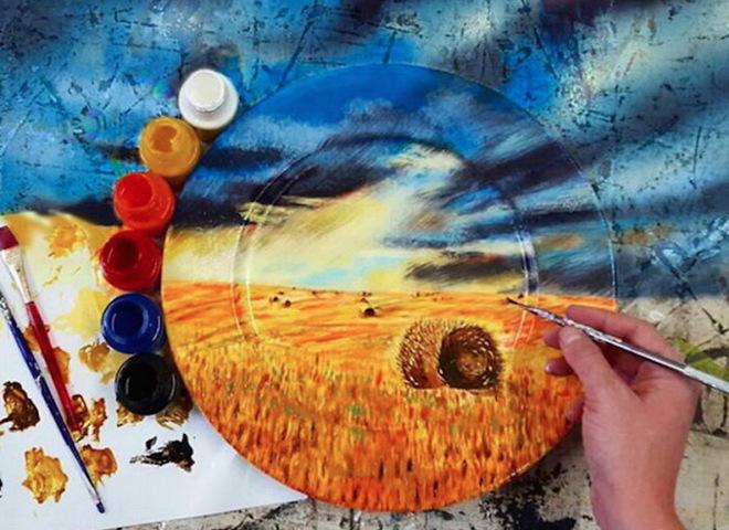 Тарелки-путешественницы: оригинальный способ выразить творчество