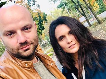 Слава Демин и Ксения Мищенко