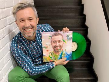 Сергей Бабкин впервые издал альбом на виниле