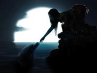 Сказочная атмосфера с дельфинчиком
