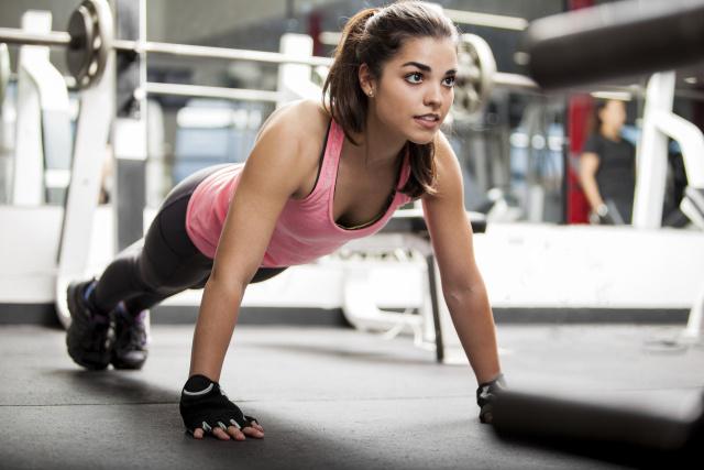 Фото девушек в фитнес зале фото 227-775