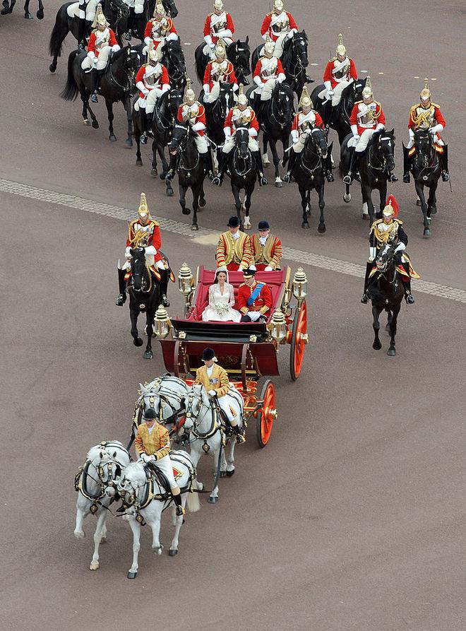 Свадьба Кейт Миддлтон и принца Уильяма