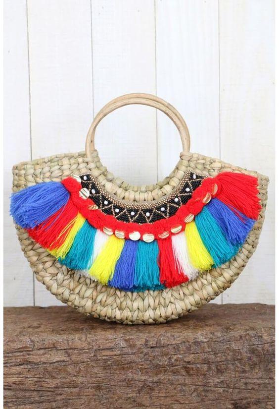 Модные тренды пляжных сумок на лето